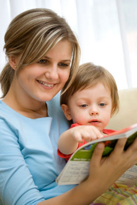 What does the magic of reading to your children have to do with them learning to read?